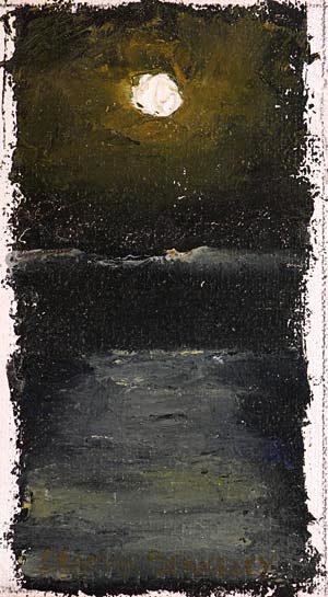 Moon Sea Painting Seamus Berkeley