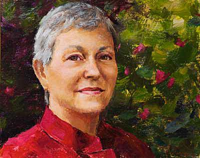 Shirley II Portrait Painting Seamus Berkeley