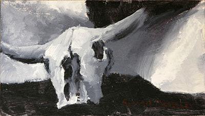 Skull Painting Seamus Berkeley