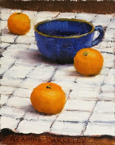Three Oranges Painting Seamus Berkeley