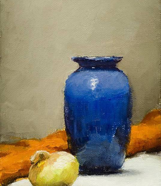Vase Painting Seamus Berkeley