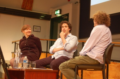 Panel discussion at London Comedy Writers Festival