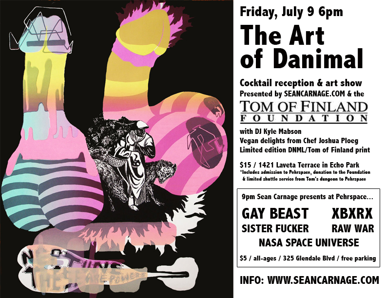 Party with Danimal & Gay Beast in Tom of Finland's dungeon