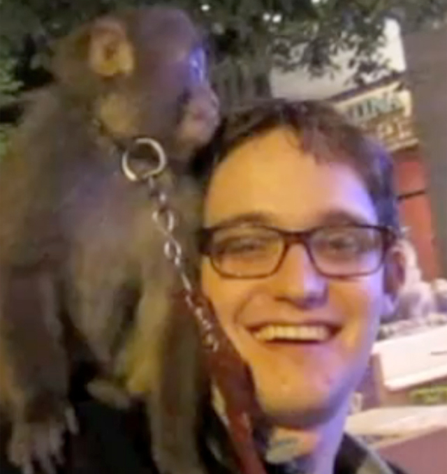 Juiceboxxx + monkey = adorable