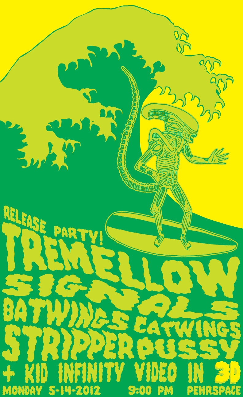 Get ready: Tremellow release party & Kid Infinity 3D video