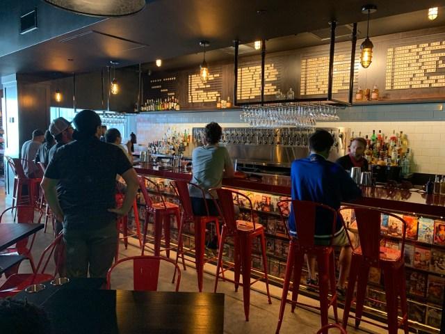Alamo Drafthouse LA bar