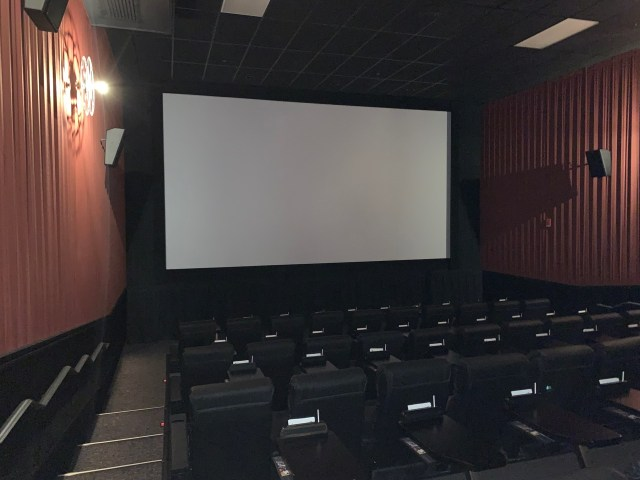 Screening room at Alamo DTLA