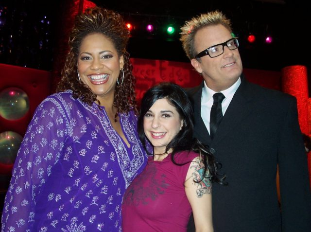 Comedian Kim Coles, porn star Joanna Angel and Jack.