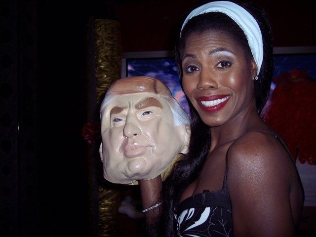 Queer Edge guest co-host Omarosa and Donald Trump