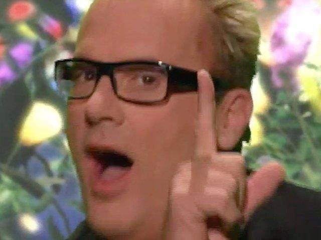 Queer Edge host Jack E. Jett