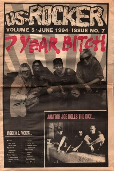 U.S. Rocker, June 1994