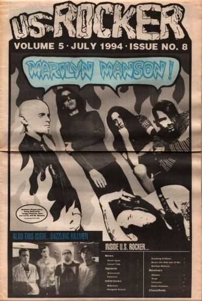 U.S. Rocker, July 1994