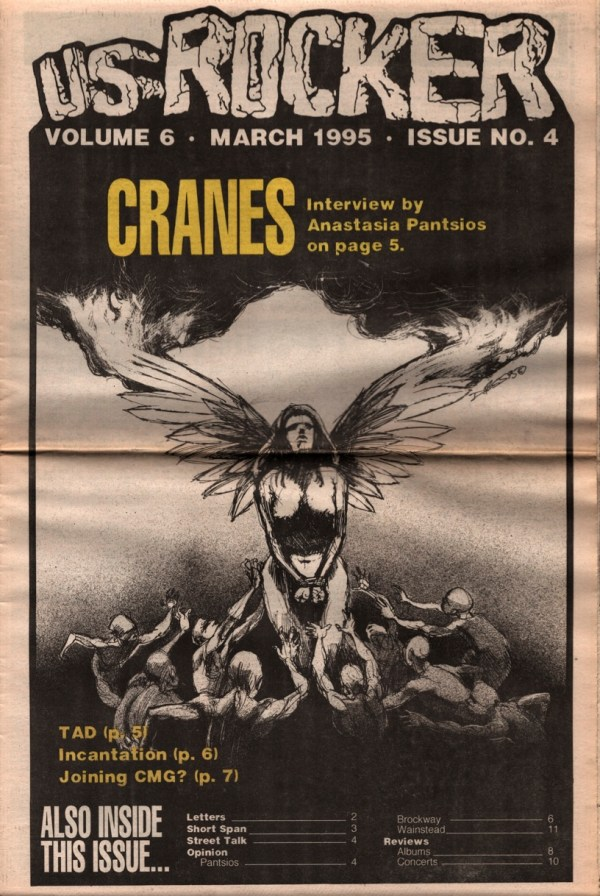 US Rocker Cranes Derek Hess