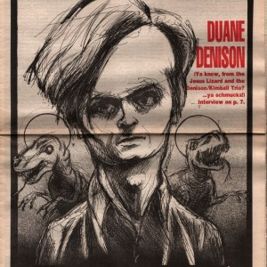 US Rocker Duane Denison Derek Hess