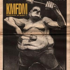 US Rocker KMFDM Derek Hess