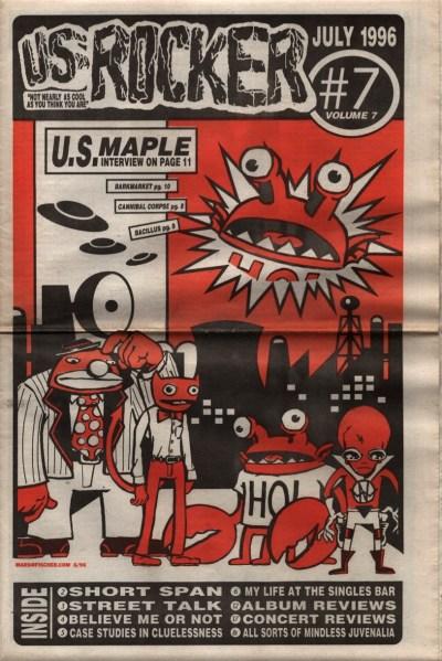 U.S. Rocker, July 1996