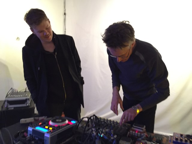 VJ Wes and Mark Hosler