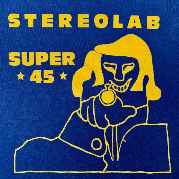 Brand new Stereolab Super 45 t-shirt