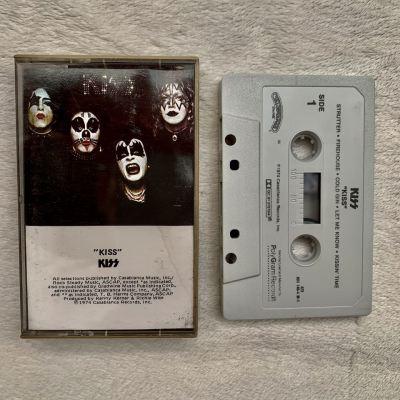 """Kiss """"KISS"""" original 1974 cassette"""