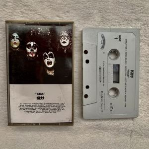 Kiss debut album original cassette
