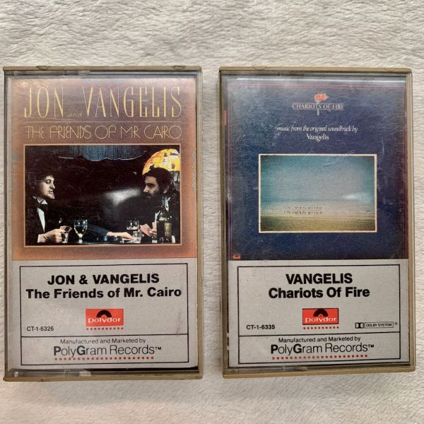 Jon & Vangelis Chariots Of Fire cassettes