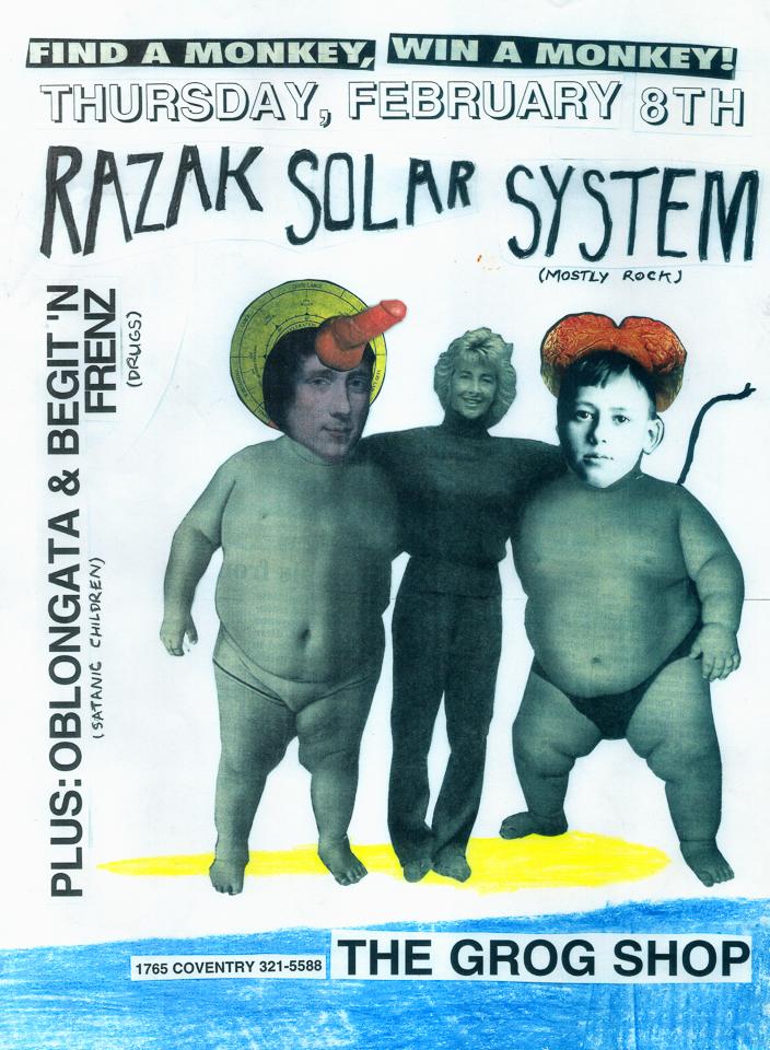 Sean Carnage Razak Solar System Grog Shop