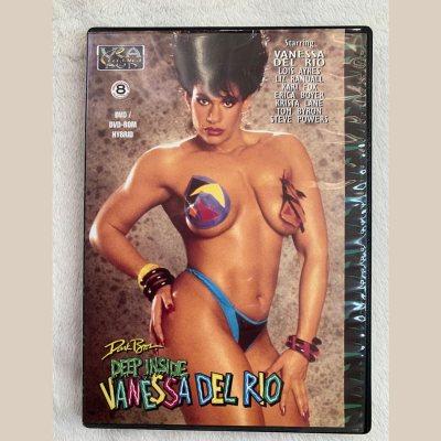 """""""DEEP INSIDE VANESSA DEL RIO"""" Classic movie (DVD)"""