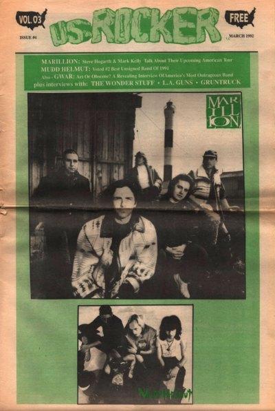 U.S. Rocker, March 1992