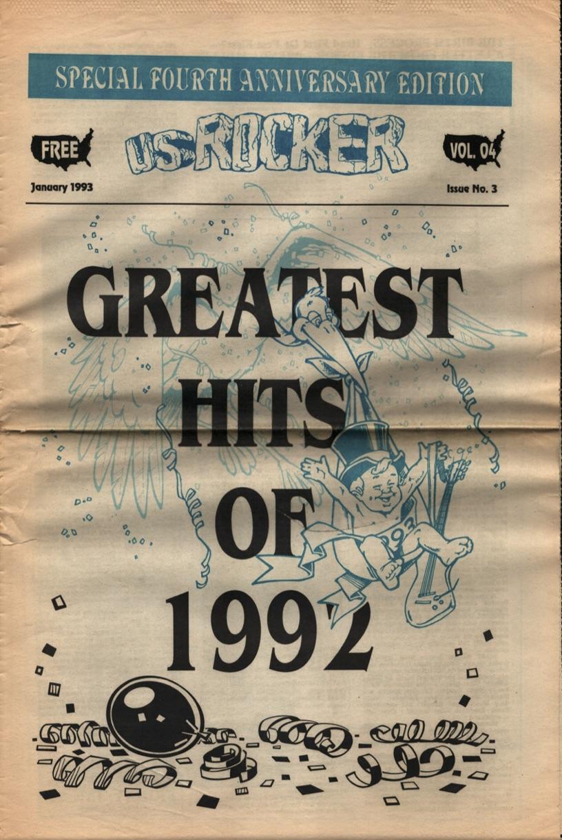 U.S. Rocker, January 1993