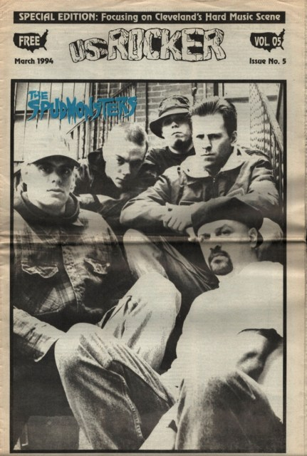 U.S. Rocker, March 1994 Cleveland The Spudmonsters