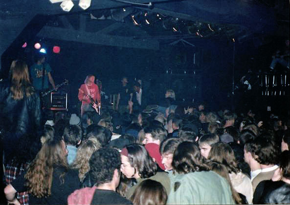 Nirvana Empire Concert Club October 10 1991 Cleveland Ohio