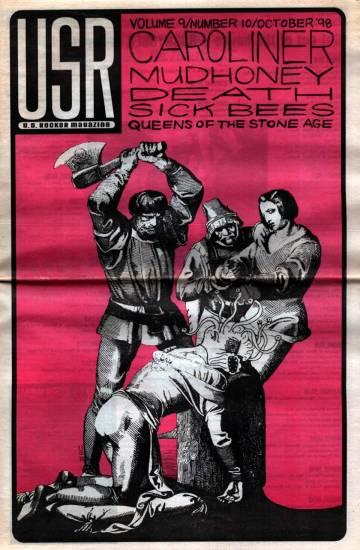 U.S. Rocker final issue October 1998 Sean Carnage Brenda Mullen