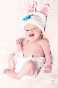 Séance photo bébé livre