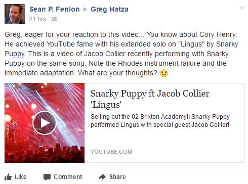 Greg Hatza is One of My Musical Heroes :-) | SeanFenlon.com — The ...