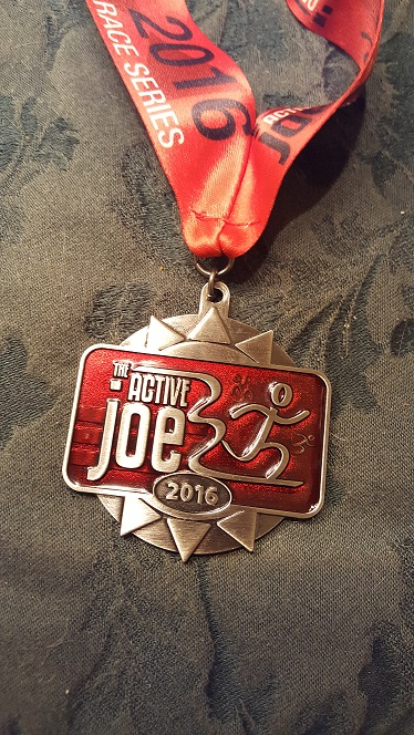 2016 Active Joe Two Race Series Medal