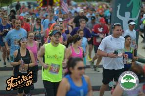 2016 Fairview Half Marathong - Starting Line