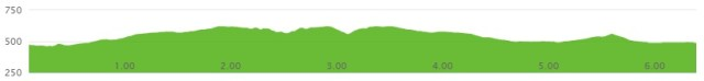Ferguson Twilight Run 10k Elevation Chart