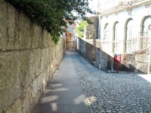 The streets of Guimarães.