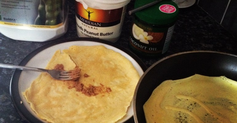 Sean Lerwill's protein pancakes recipe