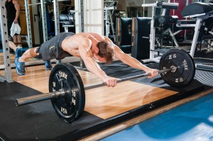 Sean Lerwill barbell rollout