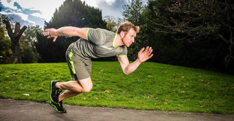 Sean Lerwill outdoor sprinting