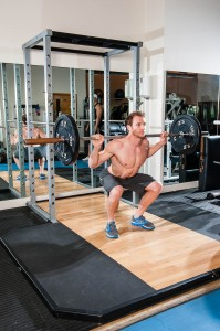 Sean Lerwill barbell squats