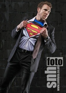 Sean Lerwill as Superman (Credit: snhfoto)