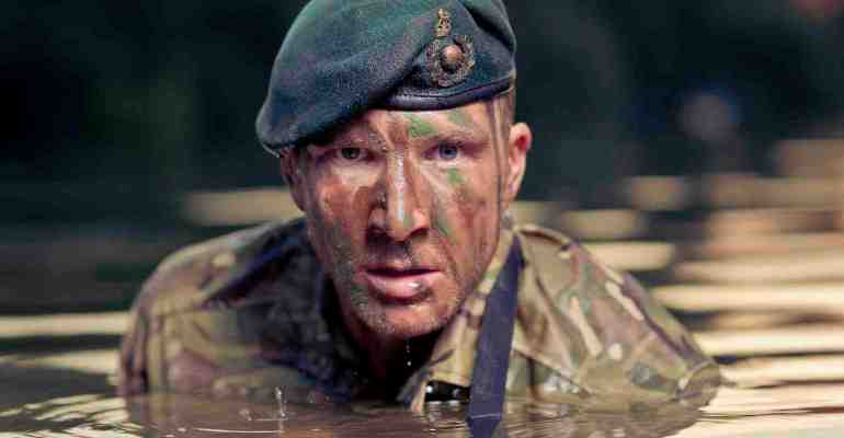 Sean Lerwill's Royal Marines river shoot (Credit: Matt Marsh)