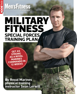 Military Fitness Special Forces Training Plan by Sean Lerwill