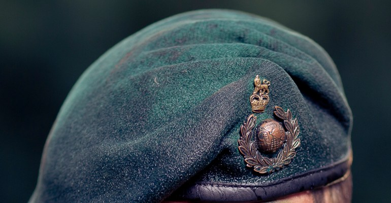 Royal Marines Commandos green beret