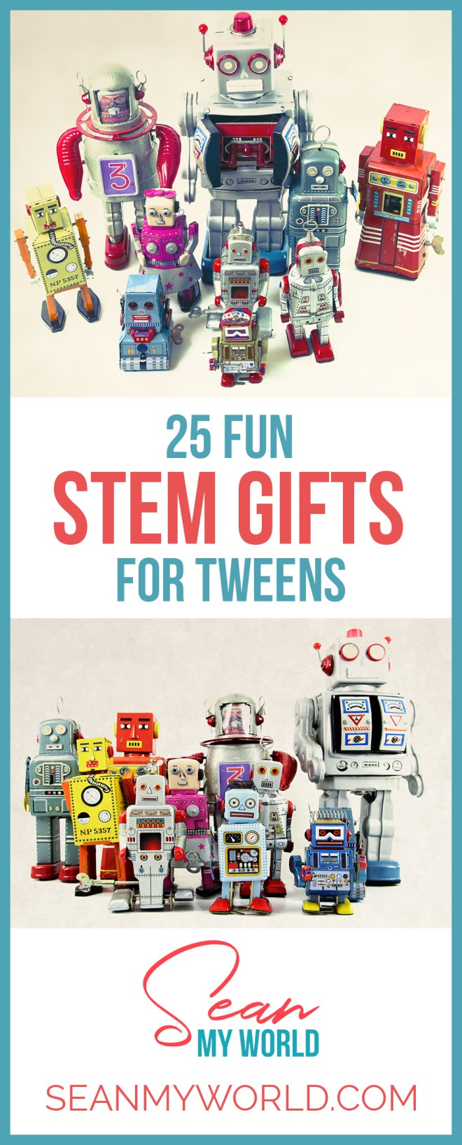 Looking for educational but fun STEM gifts for tweens? These 25 STEM gifts are so fun that your tween won't even realize they're educational!