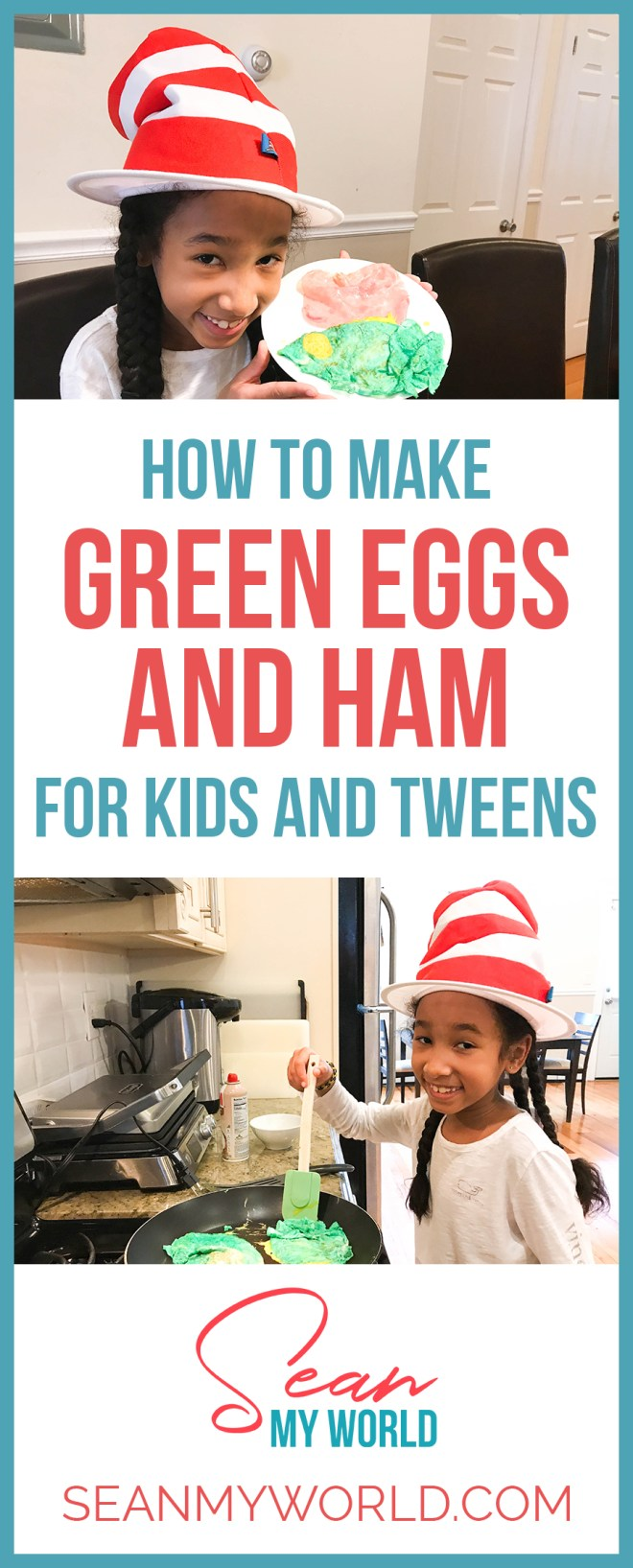 How do you make green eggs and ham? In this video, my sister Ella and I try a green eggs and ham recipe. Learn how to make green eggs and ham.