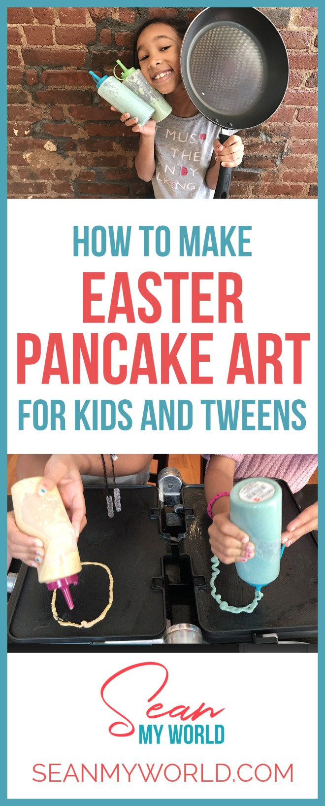We're doing the pancake drawing challenge - Easter edition! Want to learn how to make amazing pancake art? Then watch this video.