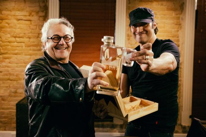 "George Miller and Robert Rodriguez on El Rey Network's ""The Director's Chair"""